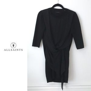 All Saints Long Sleeve Dress